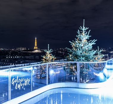 Patinoire Galeries Lafayette – Pack VIP